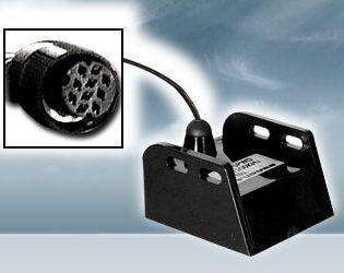 525-5PWD 600 W Echolotgeber für Heckmontage